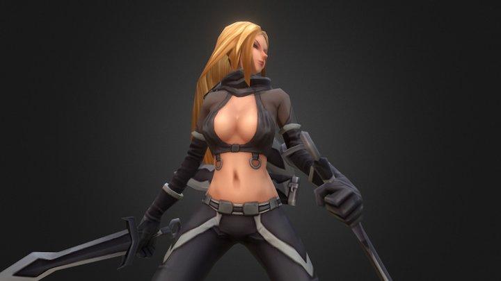 Run&Raid - Kali thiefguild skin 3D Model