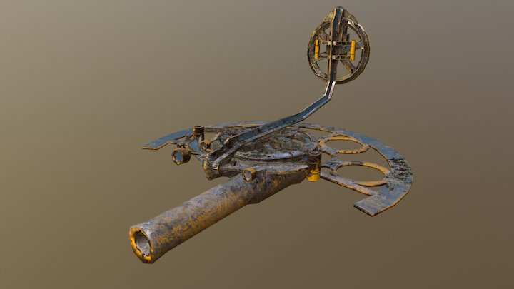 Drone FEDFIGHTER V01 3D Model