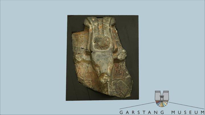 Statue of Egyptian Goddess Hathor 3D Model