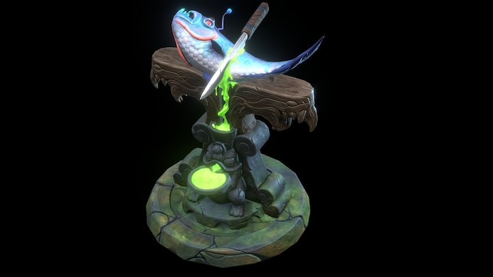 Victim Altar 3D Model
