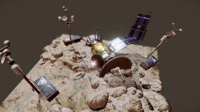 Mars Machine 3D Model