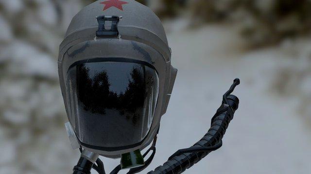 PBR Helmet 3D Model