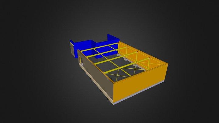P00071 Van Eyck Geel 3D Model
