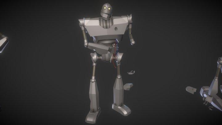 Iron Giant Detail 3D Model
