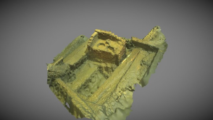 Oven from the wreck of Sofia Maria 3D Model