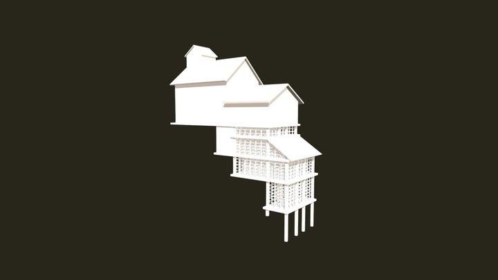 Casa Colgante / Hanging House 3D Model