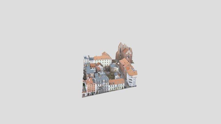 Łazienna Toruń Starówka 3D Model