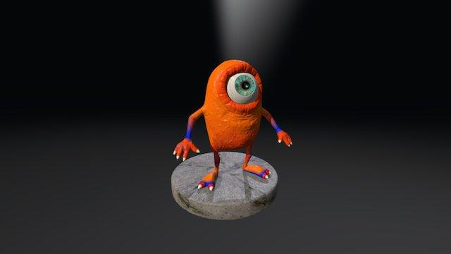 Monstruo Ciclope1 3D Model
