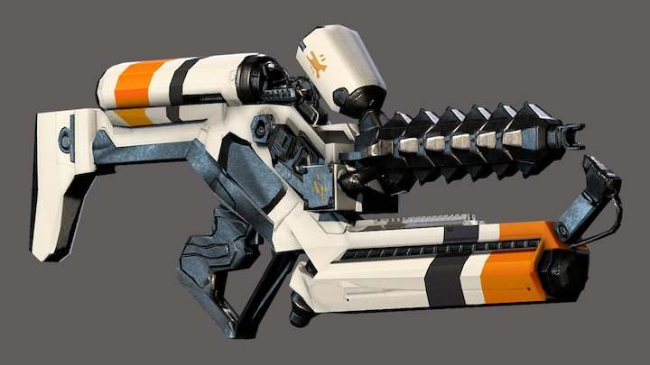 District 9 Arc Thrower 3D Model