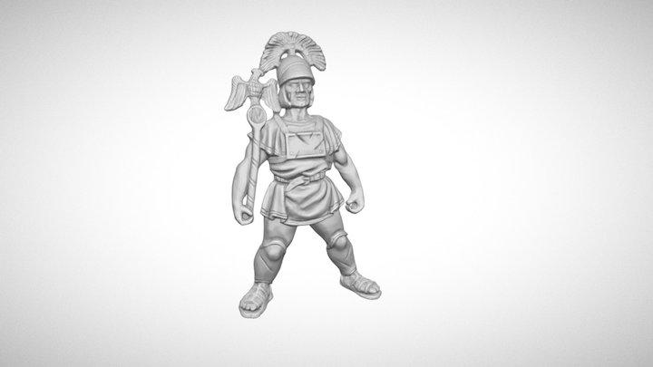 Roman 3D Model