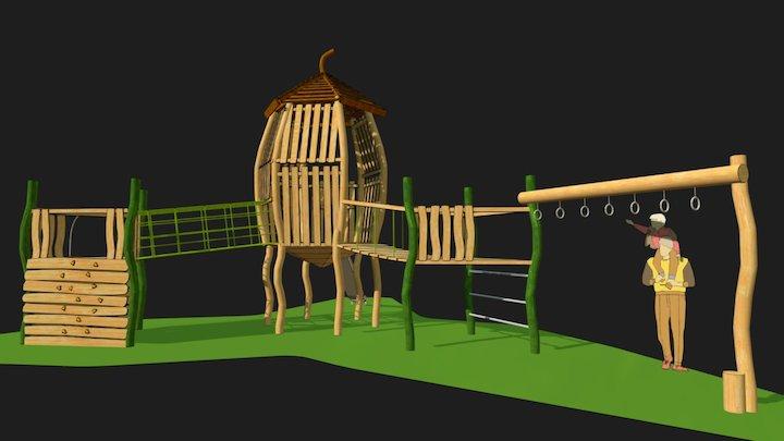 Saltdean Acorn 3D Model