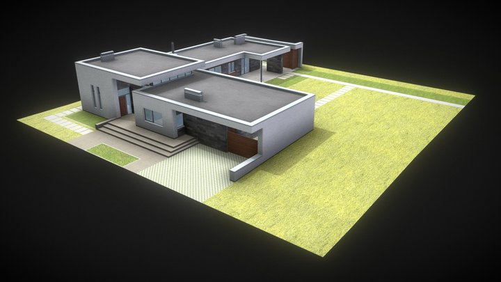 H2 3D Model