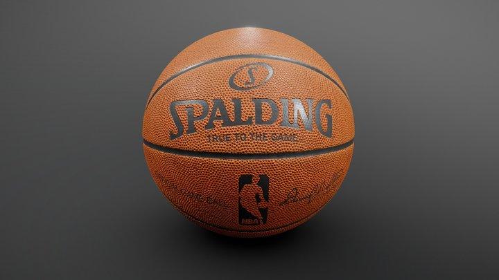 Basketball NBA Spalding 3D Model