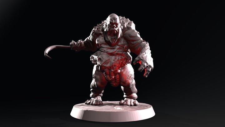 Abomination - The Hungerer 3D Model