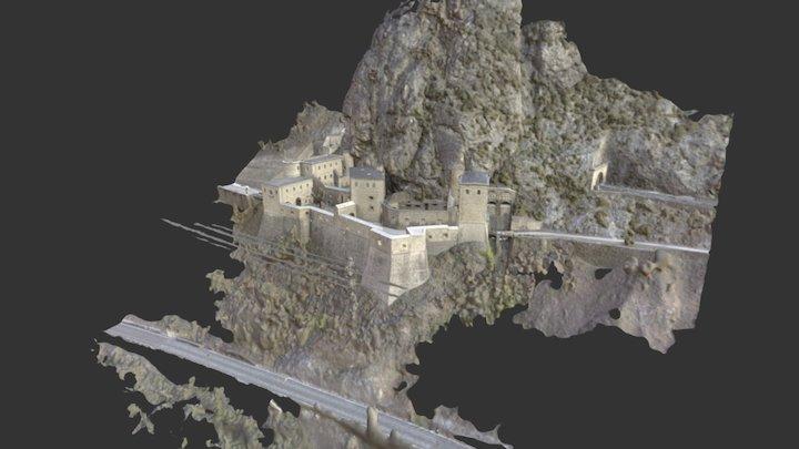 Fort l'écluse 3D Model