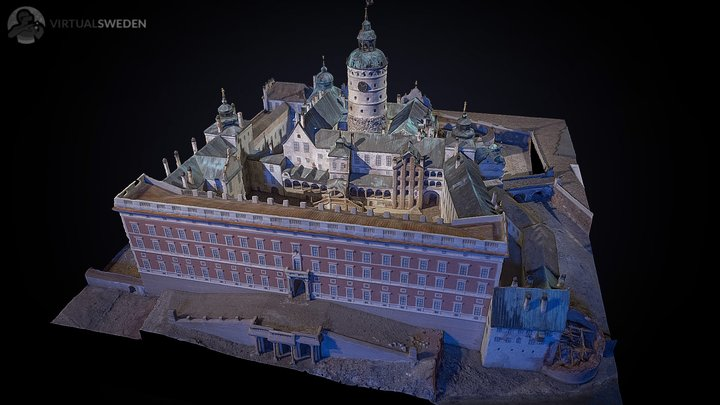 Tre Kronor castle mode. 3D Model