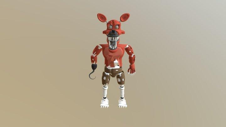 NIGHTMARE FOXY fbx 3D Model