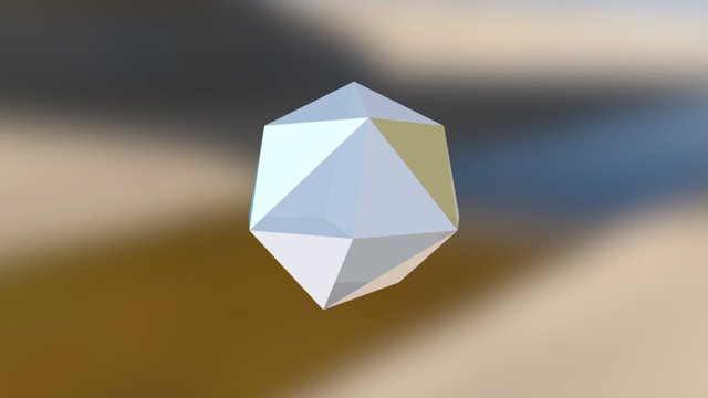 Icosatrihedron With 3 Regular Heptagons 3D Model
