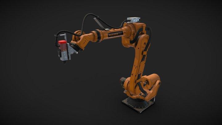 Robot Arm - industrial size 3D Model
