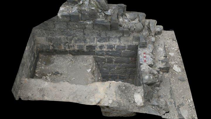 Propylaeum West Tower 3D Model