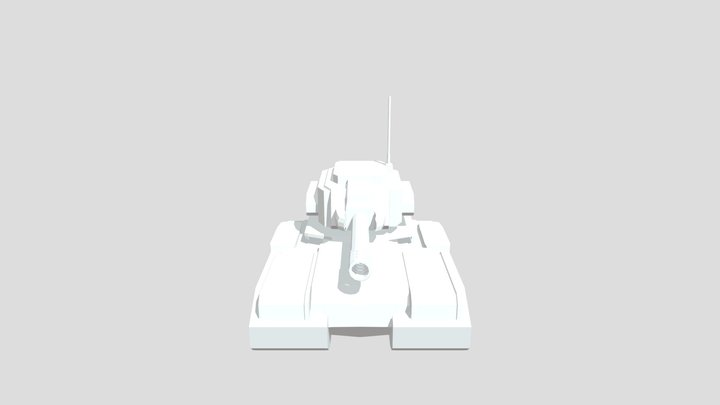 Supreme Commander Tank 3D Model