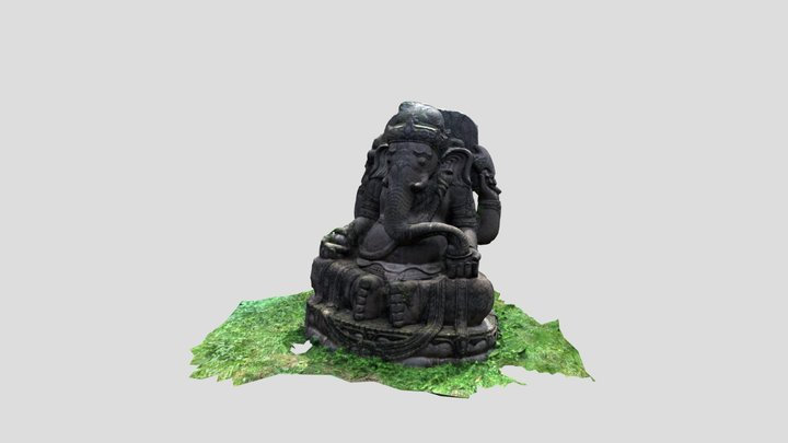STATUA TIBETANA 3D Model