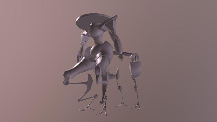 Sheperd Robot 3D Model