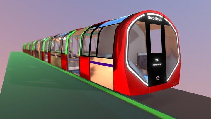 New Underground for London 3D Model