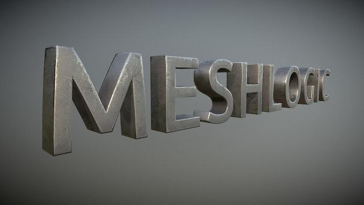 MeshLogic Logo 3D Model