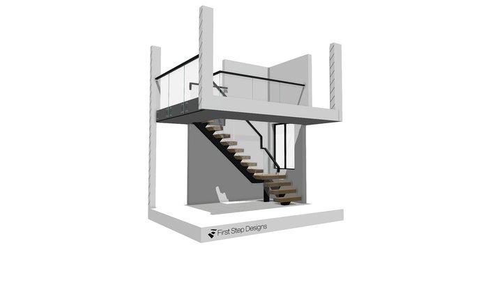 Slater Spine 3D Staircase 3D Model