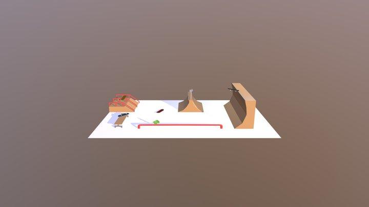 Skateboard Park - Week5 3D Model