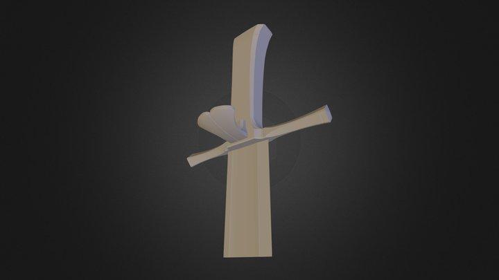 Grosse Messer 3D Model