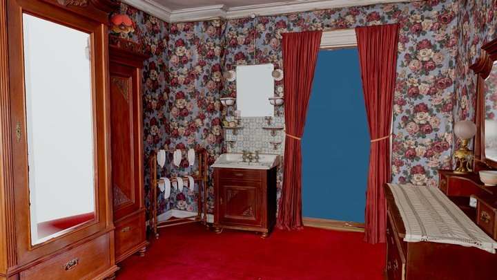 Omkledningsværelset / Dressing room - AR 3D Model
