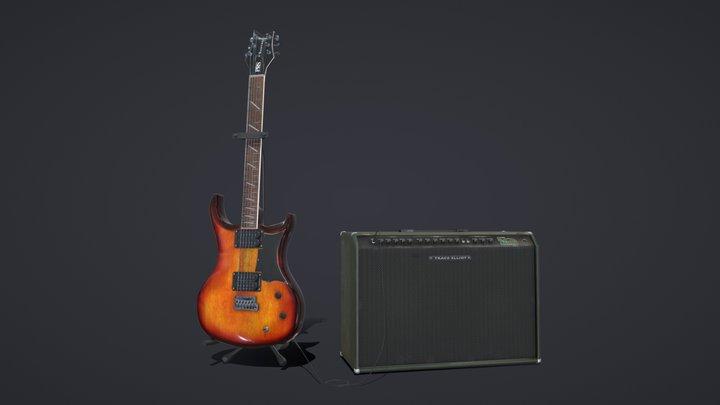 PRS Guitar 3D Model