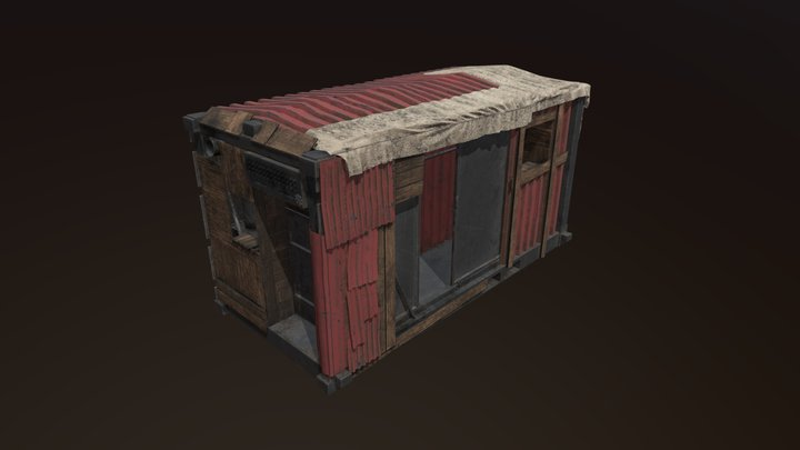 Containher House 3D Model