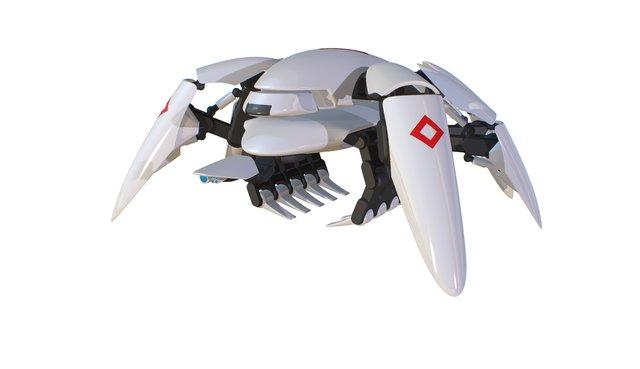 ELIOS Rescue Robot Concept 3D Model