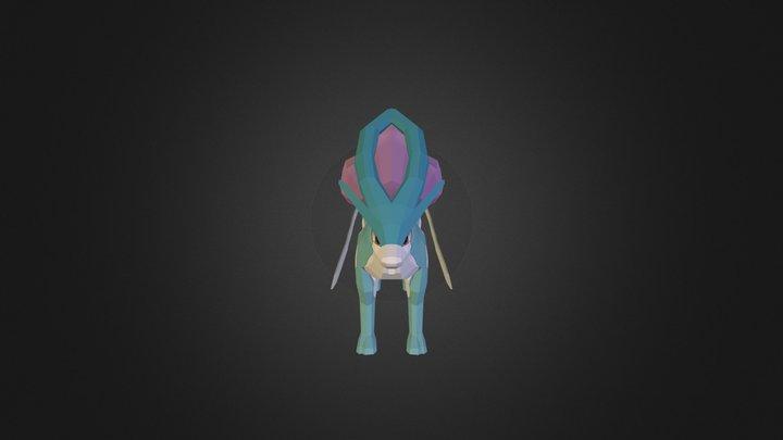 Suicune 3D Model