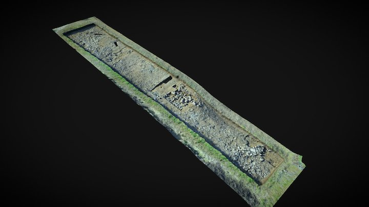 Castle Hill 2016 Trench 3 3D Model