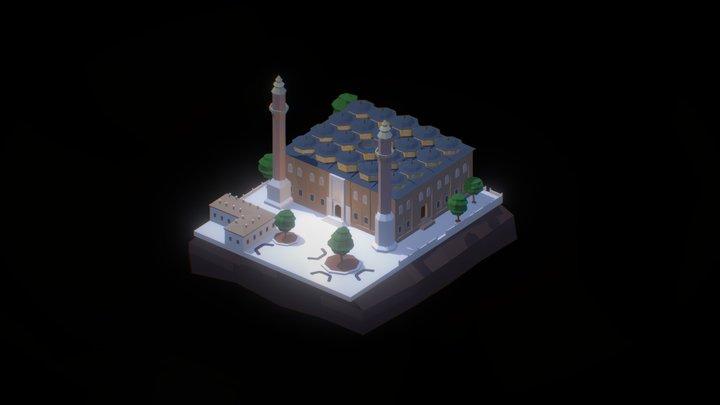 Grand Mosque 3D Model