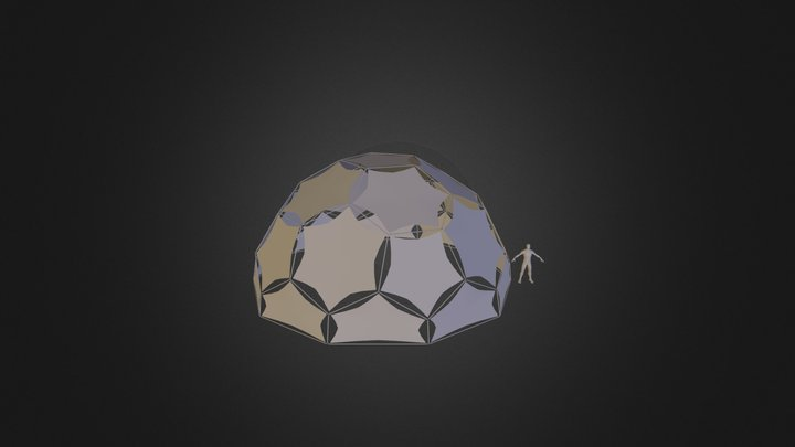 40ft Dome 3D Model