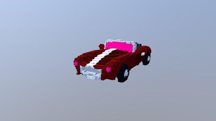 [Voxel] AC Cobra 3D Model