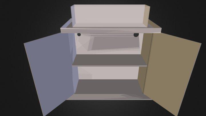 12LongStand.dae 3D Model