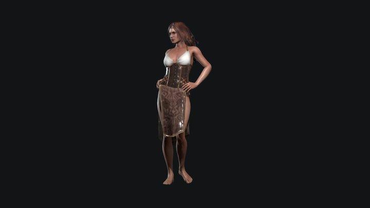Civilian_03 3D Model