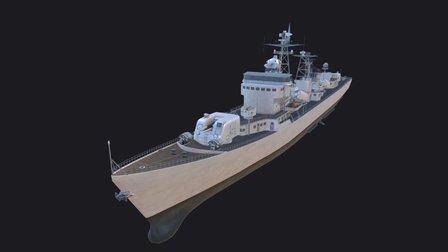 Type 051 Luda Class 3D Model
