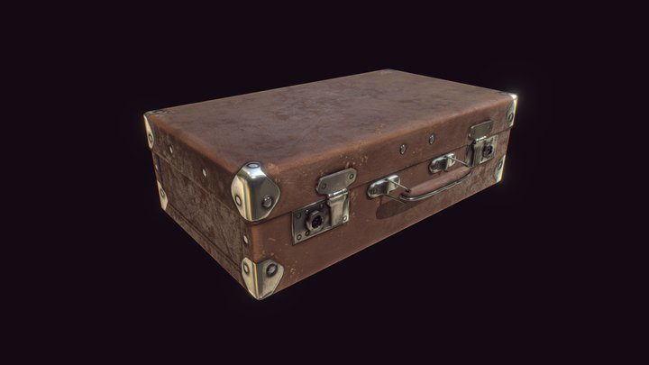 Legacy Works - Weathered Suitcase 3D Model