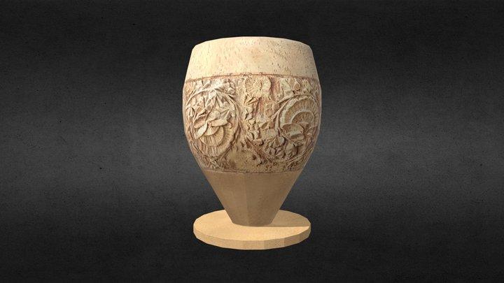 Carved Egg Cup 3D Model