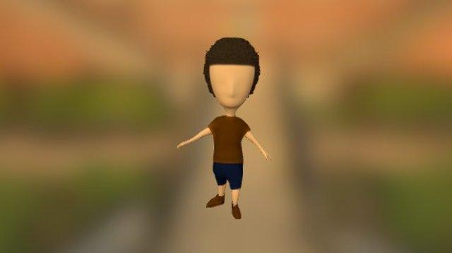 Man 3D Model