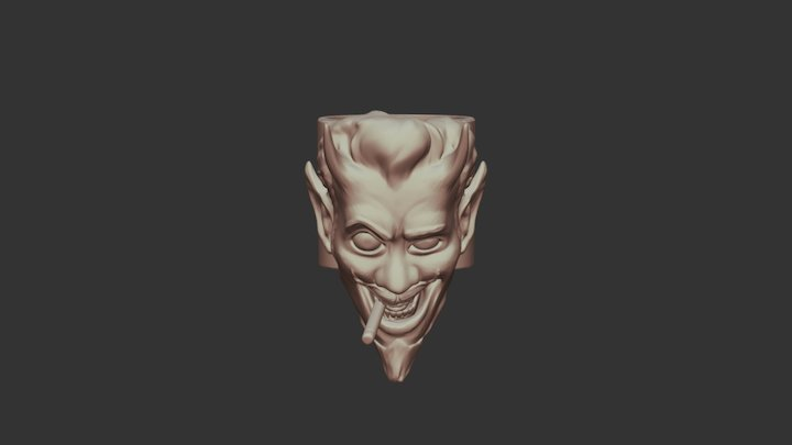 Devil 3D Model