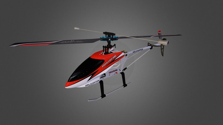 RC Heli - 9104 Double Horse 3D Model