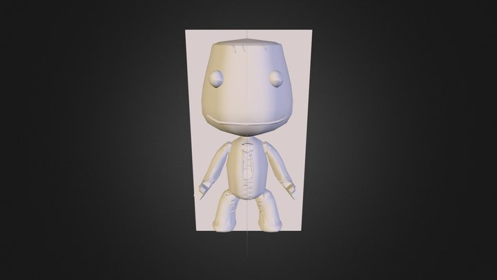 sackboy 3D Model